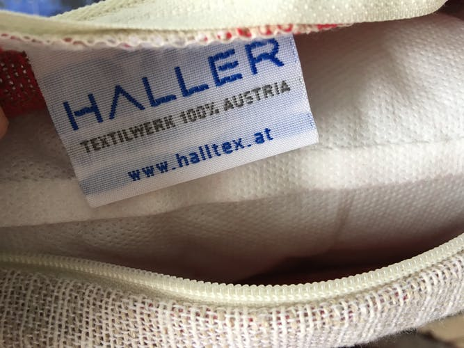 Coussin lin coton Haller Austria