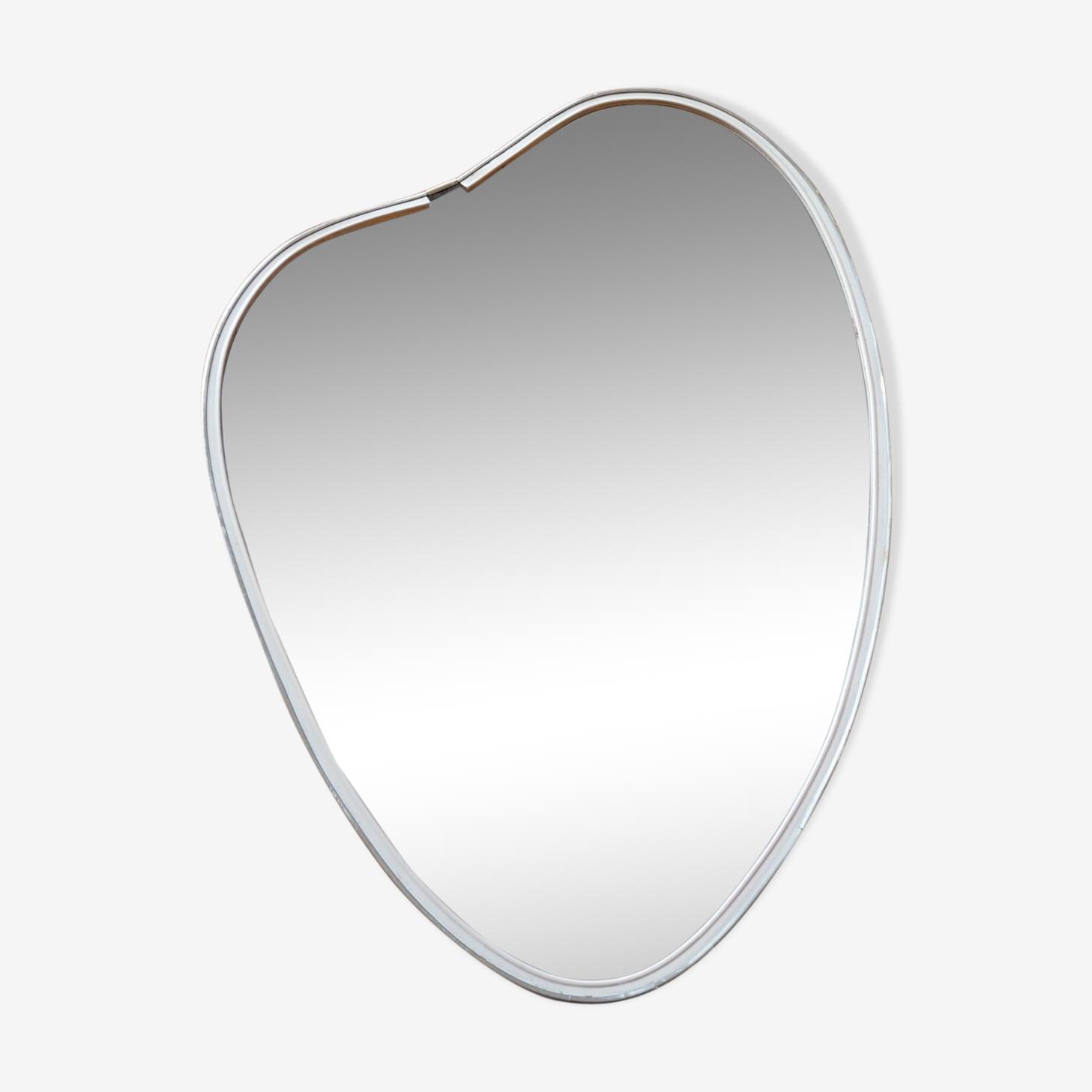 Vintage asymmetric vintage mirror 38x54cm