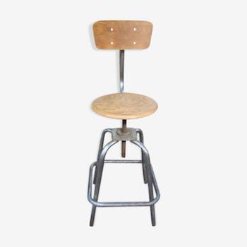 Chaise industrielle de dessinateur
