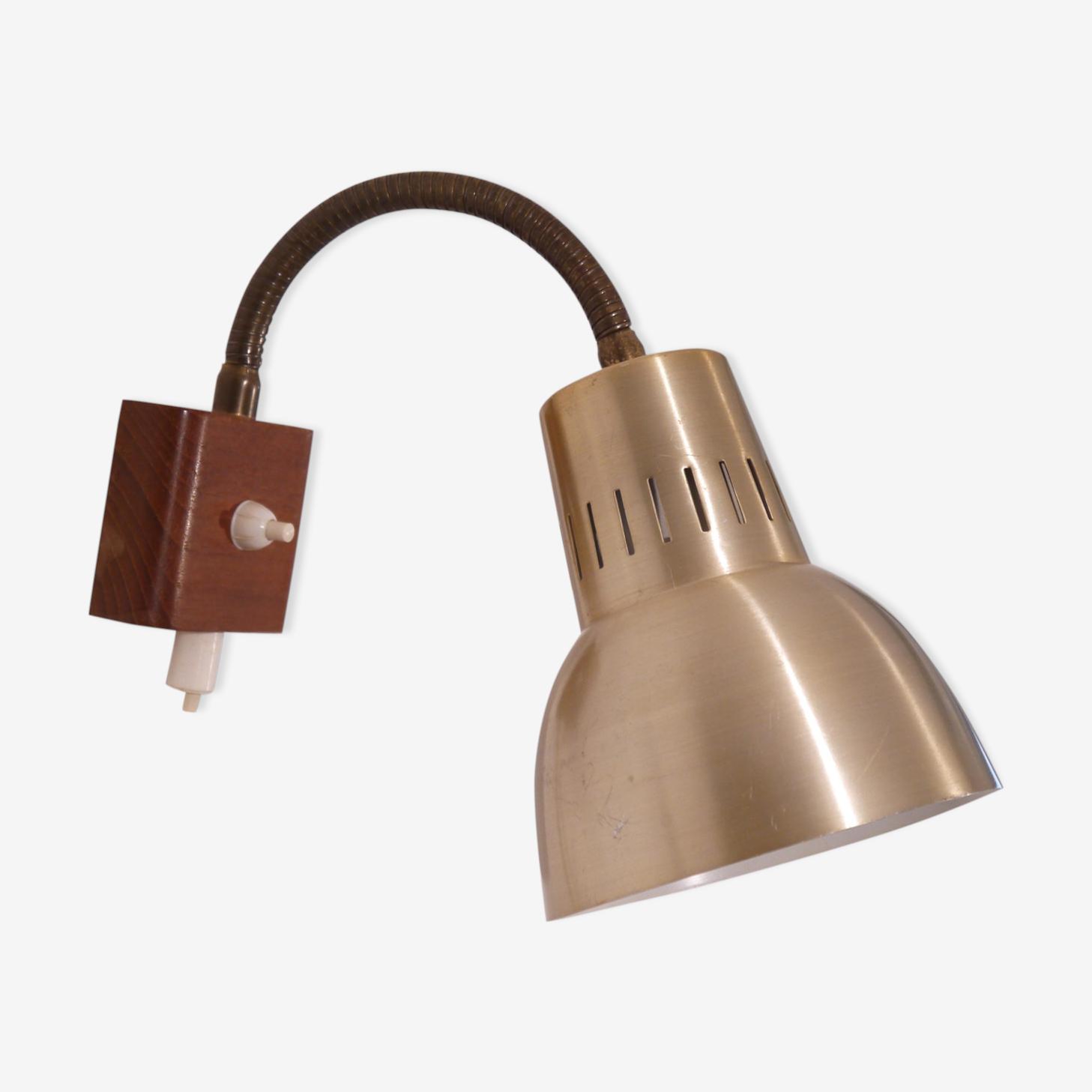 Applique  teck et métal Danemark