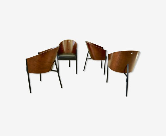 Living Room Bedroom Combo Ideas, Dining Chairs Model Costumes By Philippe Starck Selency