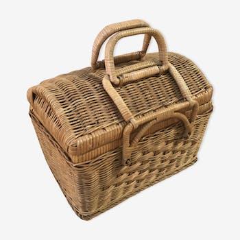 Old basket 70s vintage
