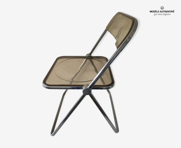 Transparent Vintage Pliante Plexiglas Bhqsrcxdt Chaise 2n9jzrw 1J3TlFcK