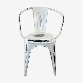 Chair white industrial