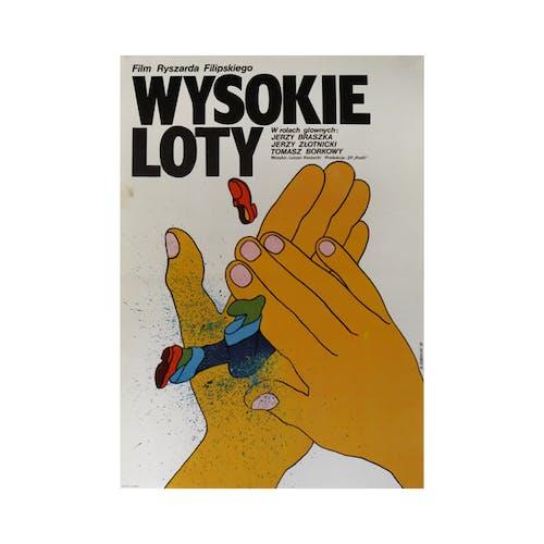 Film Poster 'High Flights'   Poland   1979