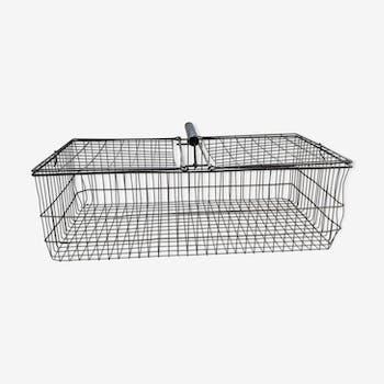 Large wire metal basket