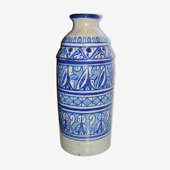 Safi pottery bottle vase
