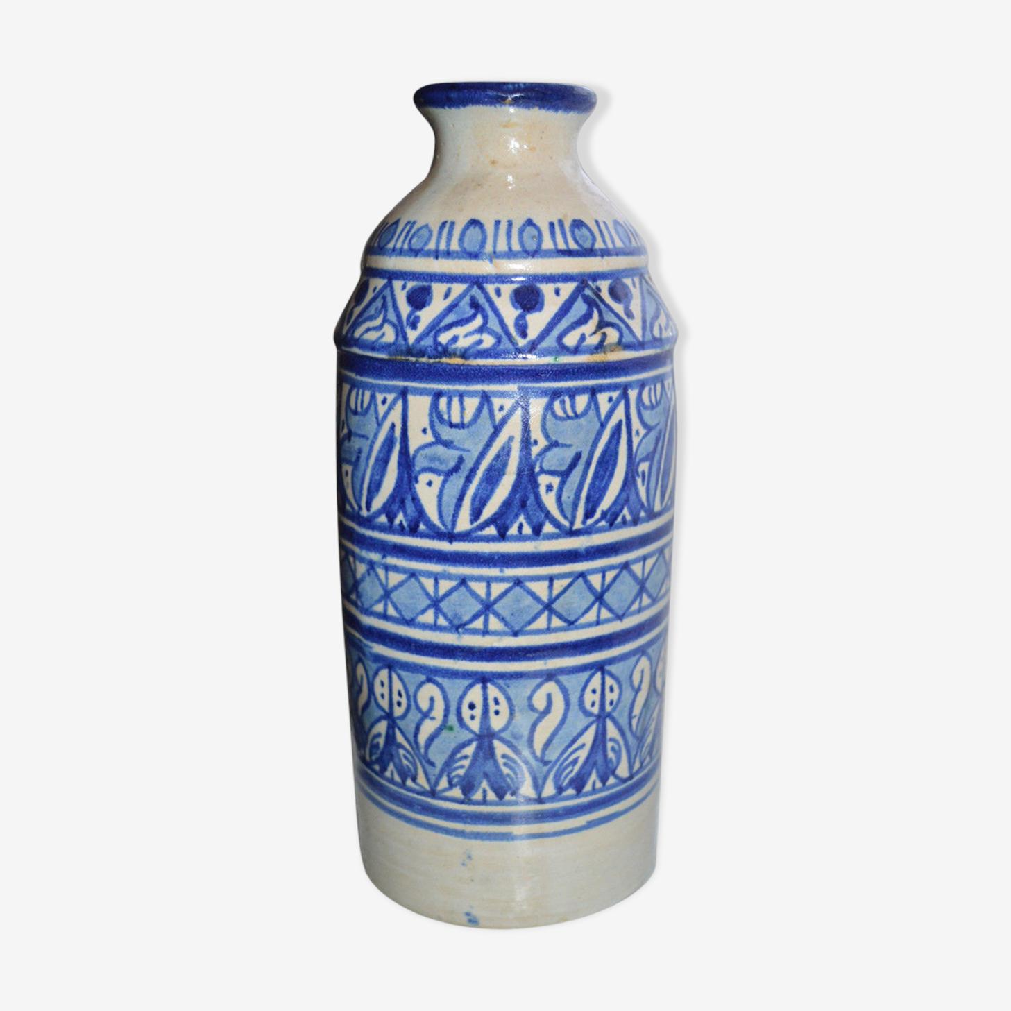 Vase bouteille poterie de Safi
