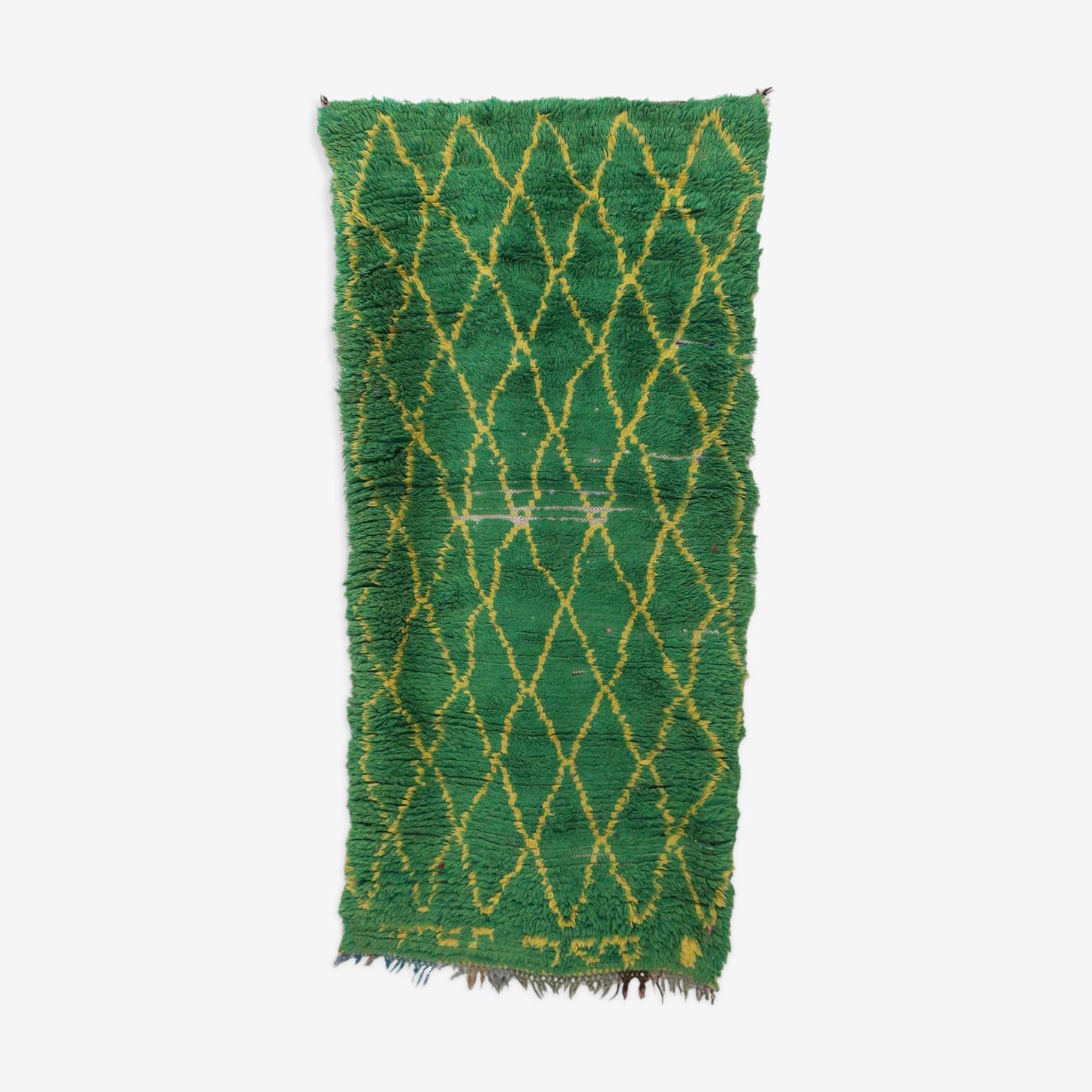 Tapis marocain bejaâd vintage 92 x 185 cm