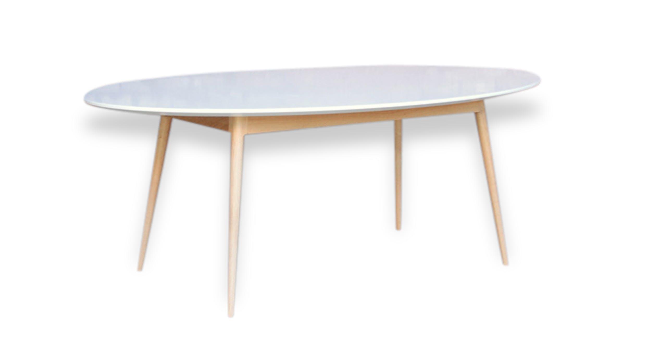 grande table ovale a manger ou de reunion wood design 91840 - Grande Table Ovale