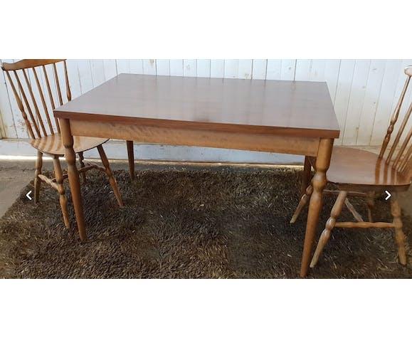 "Table bistrot vintage ""Baumann"""