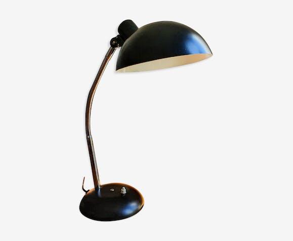 Lampe articulée Manufrance noire, années 60