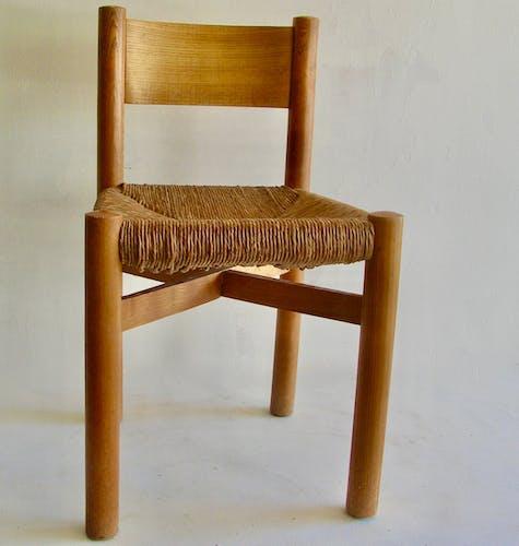 "Chaise ""Meribel"" Charlotte Perriand circa 1960"
