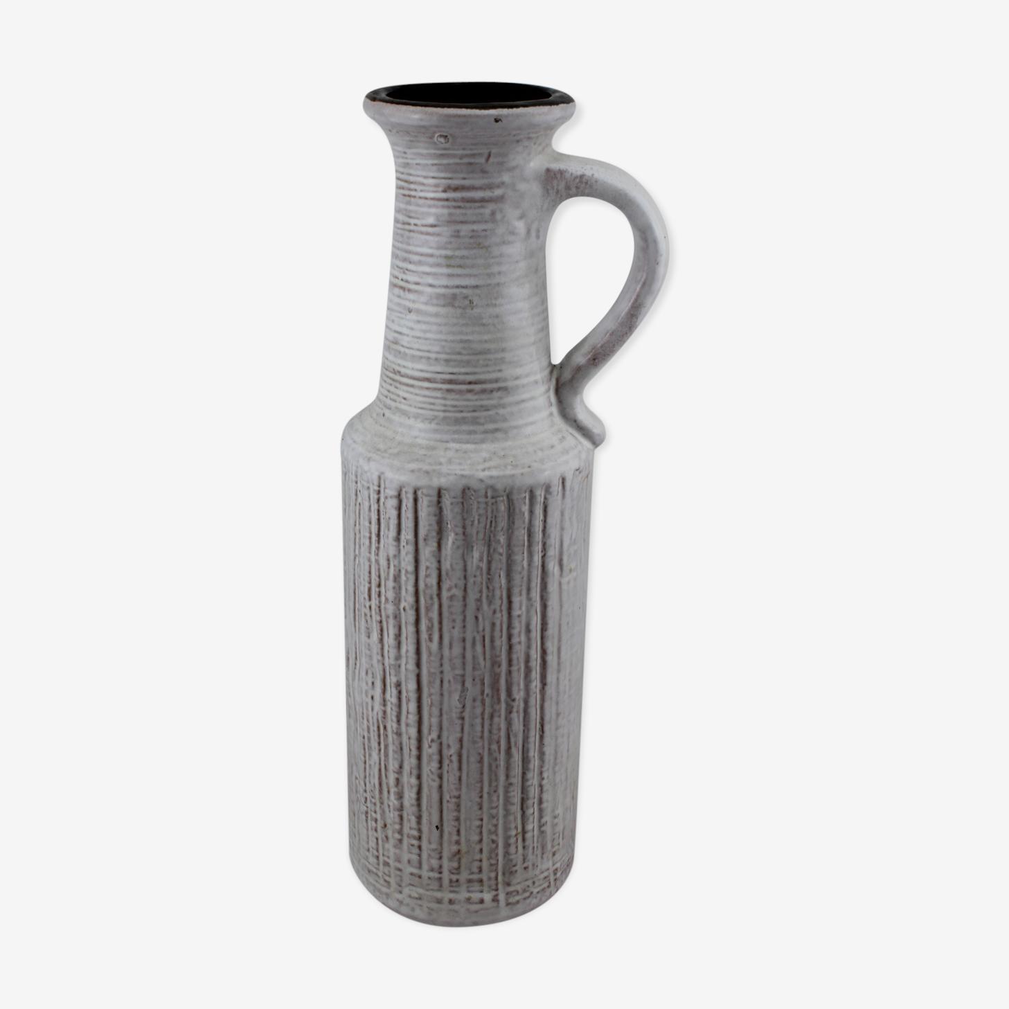 Large white vase Castens West Germany