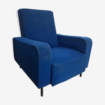 Fauteuil bleu 1950