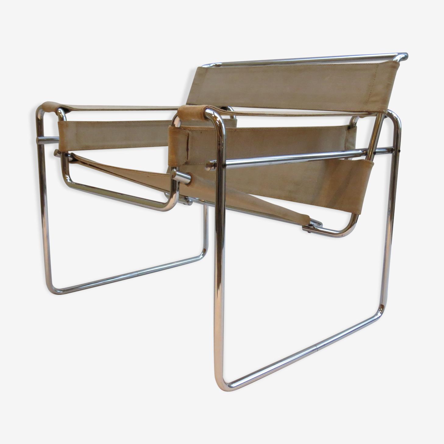Wassily B3 armchair by Marcel Breuer for Gavina 1970