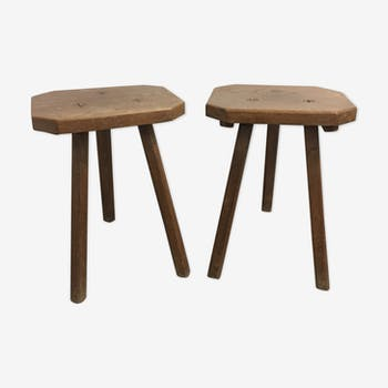 Pair stool Vacher, 1950
