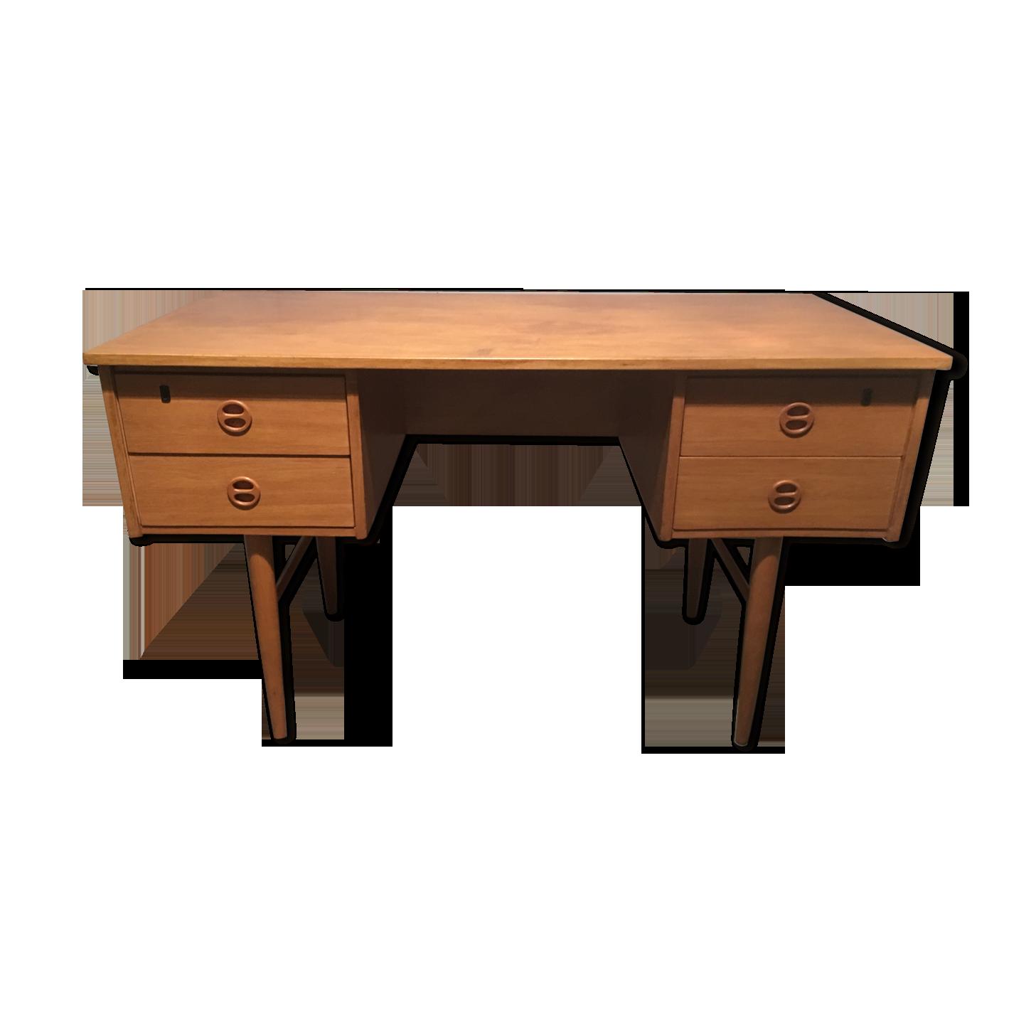 Bureau allemand années bois matériau bois couleur