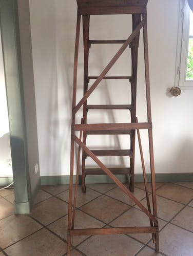 Ancient stepladder
