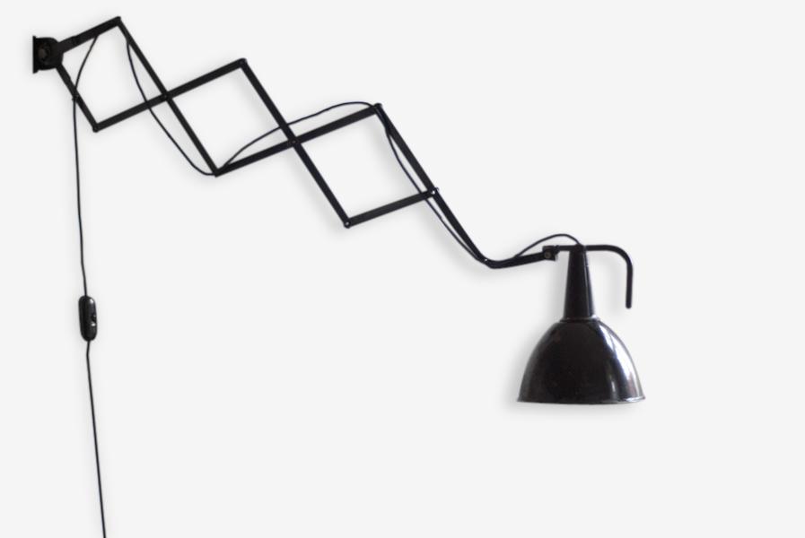 Lampe Ciseaux Very Big Wagenfeld Bauhaus Scissor Lamp Metal