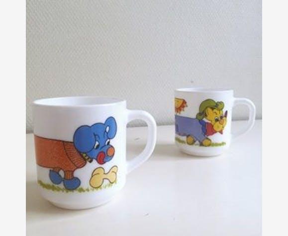 70 CéramiquePorcelaineamp; Mugs Arcopal État Motif Bon Chien Vintage Faïence Année 99723 8nmwN0vO