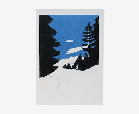 Illustration-excursion format 14.5 x 21 cm