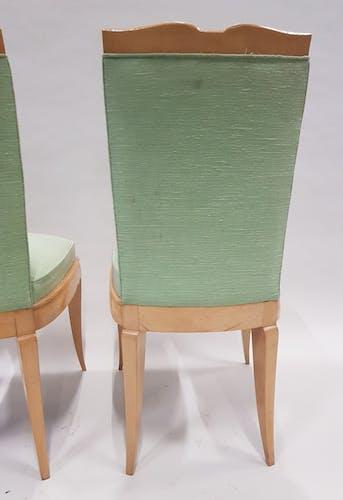Paire de chaises art déco