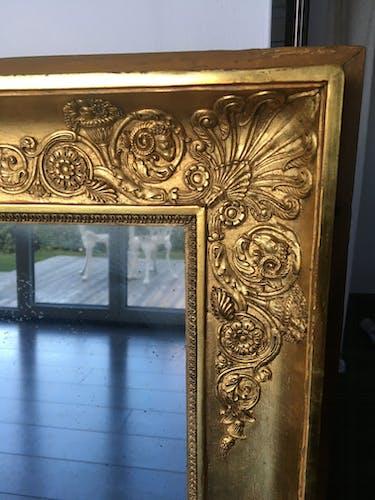 Miroir ancien époque empire
