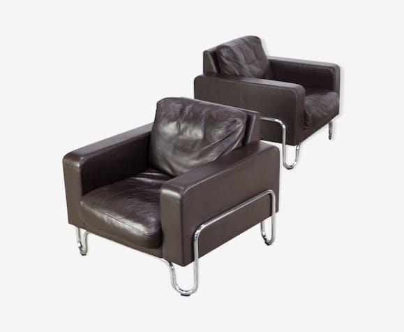 Fauteuils 441 B1 par W.H. Gispen pour Dutch Originals Furniture