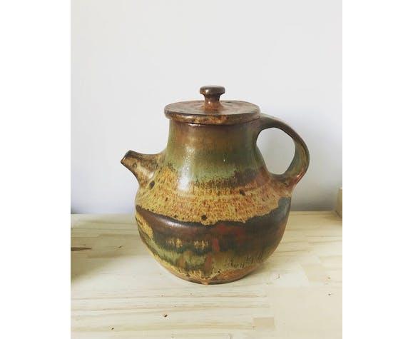 Théière en céramique vintage