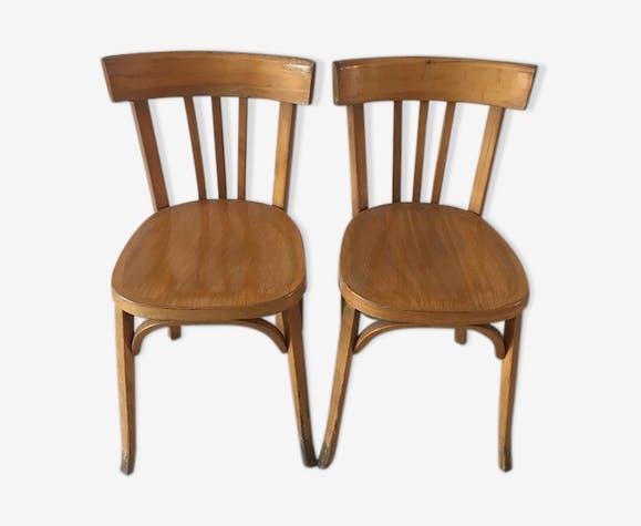 Baumann chair duo