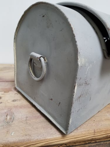 Plumber's metal box
