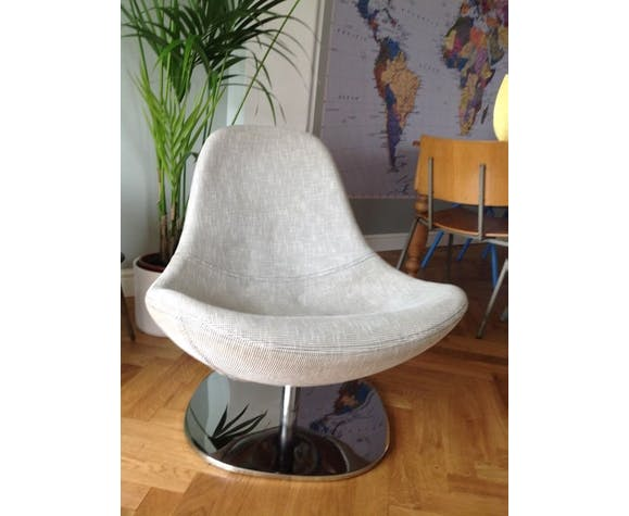 Draaifauteuil Tirup Ikea.Egg Carl Ojerstam For Ikea Tirup Chair Selency
