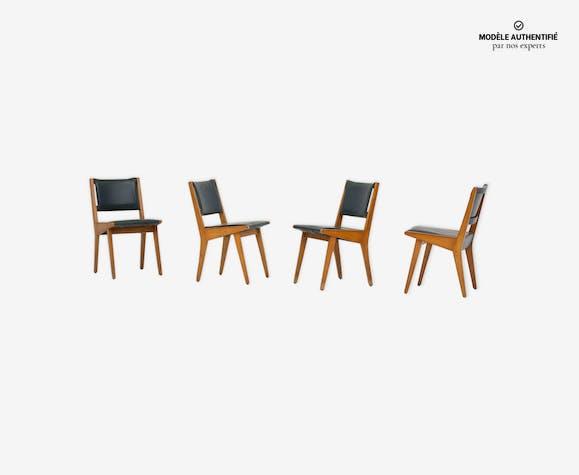 Chaises 666 par Jens Risom pour Knoll