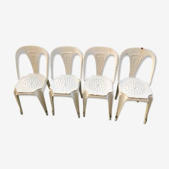 "Set of 4 chairs ""mutipl's"""