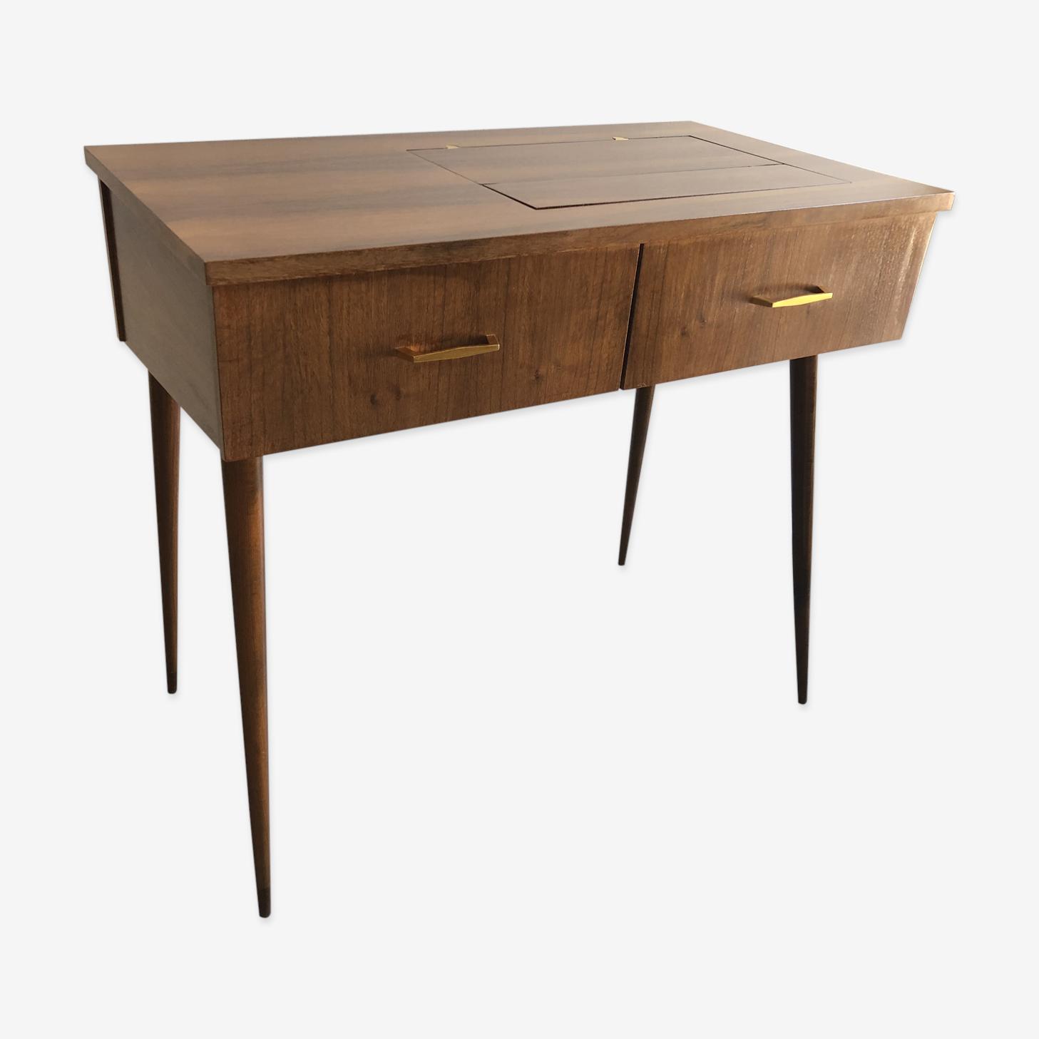 Desk former Cabinet sewing machine