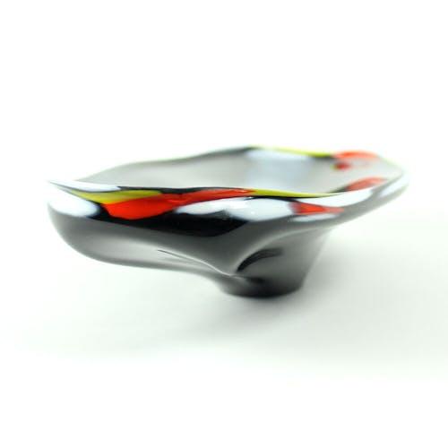 Trinket bowl by Josef Rozinek, Borske Sklo Glassworks, 1960s
