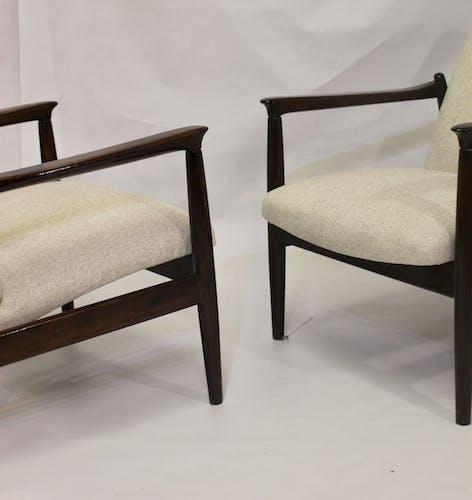 Paire de fauteuils GFM-142 par Edmund Homa année 1960