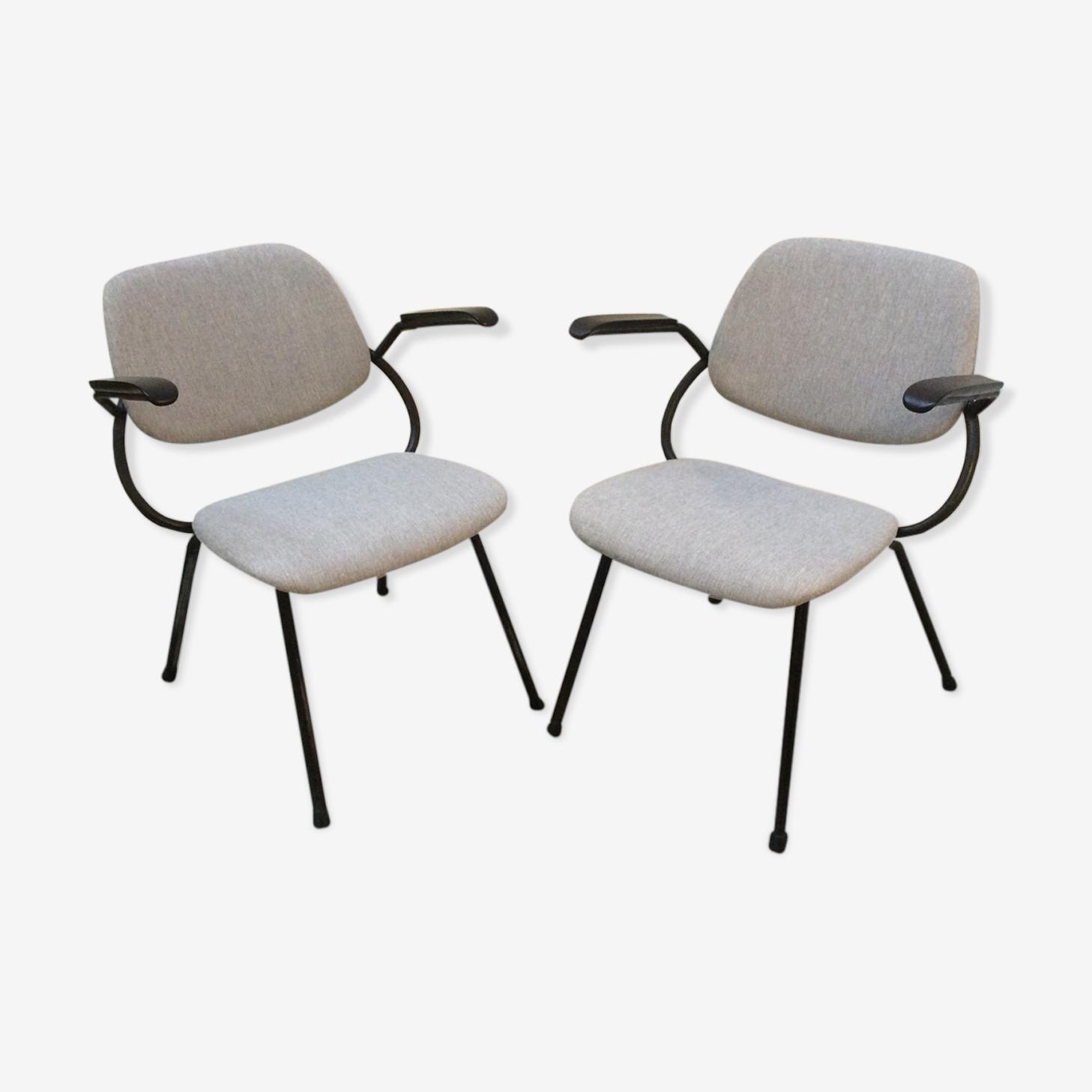 Rare paire de fauteuils Marko