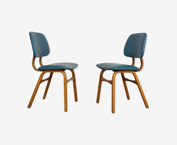 Paire de chaises années 60 vintage