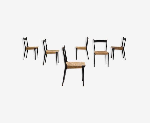 Ensemble de chaises S2 par Alfred Hendrickx 1958