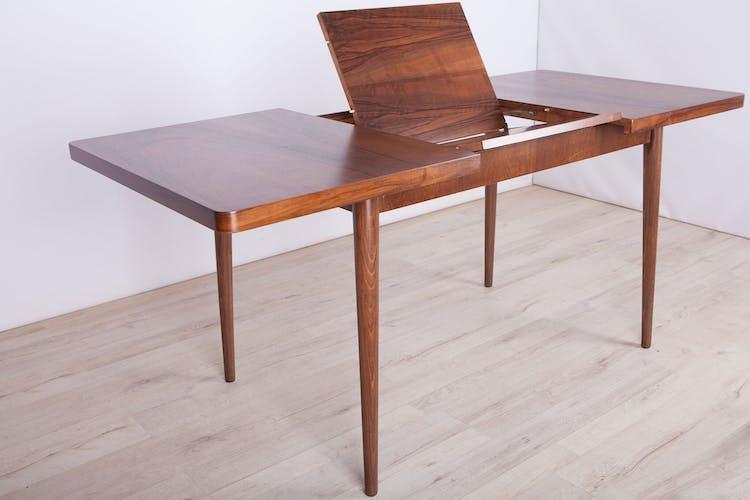 Czech Walnut Extendable Dining Table