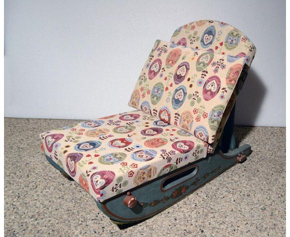 Tyrolean chairs, 1950s, set of 2