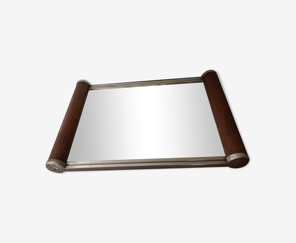 Plateau miroir années 50