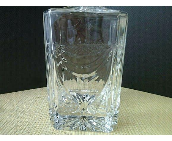 Carafe à whisky en cristal d'Arques