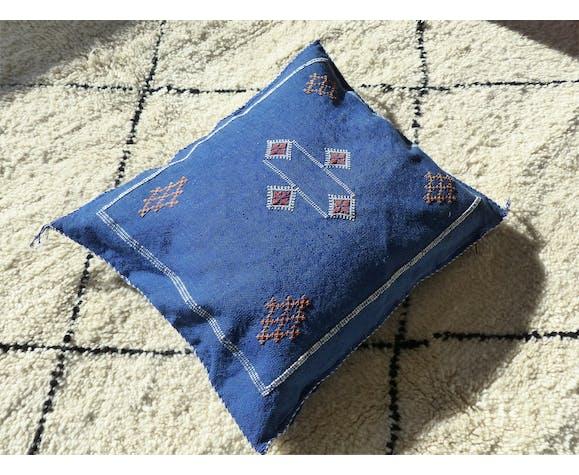 Blue berber sabra cushion