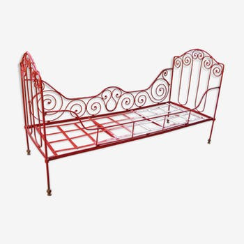 Bed bench iron