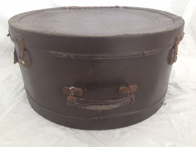 Valise boîte à chapeau d'époque