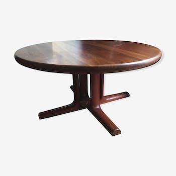 Table basse ronde des années 60