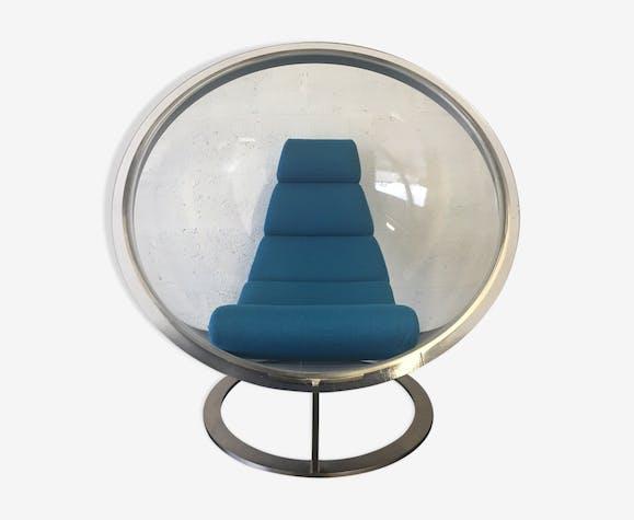 Fauteuil Bulle Christian Daninos Plexiglas Transparent Design - Fauteuil bulle